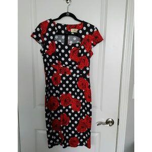 Grace Karin Floral Print Dress